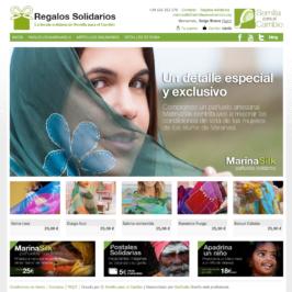 Tienda On-line Regalos solidarios