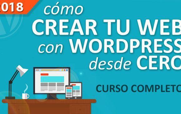 Curso online de WordPress: Diseña una web atractiva y visual que te haga destacar